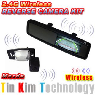 Wireless Reverse Camera Car for Mazda 323 MPV Premacy Tribute