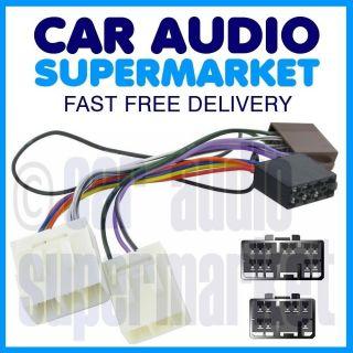 Mazda CD Radio ISO Wiring Harness Adaptor Lead Fits 323 MX3 MX5 Bongo
