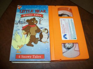 Little Bear Winter Tales VHS Andrew Sabiston Kristin Fairlie Unrated