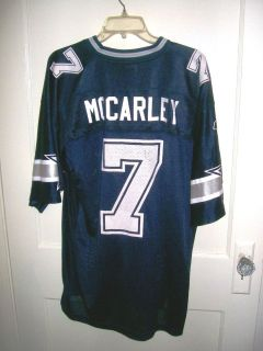 Pre Owned NFL Dallas Cowboys Mccarley Rbkjersey Size Large
