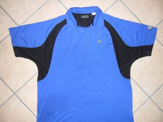 MCDONALDS EMPLOYEE WORK SHIRT Uniform Sewn Embroidered Golden Arches