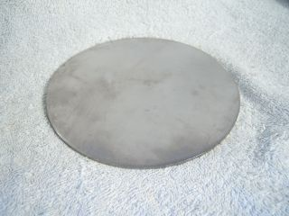 Round 6 Stainless Steel Plates 12 Gauge HHO Project Disk Sheet Metal