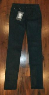 McQ by Alexander McQueen Ladies Black Skinny Jeans Waist Size 26 UK 8