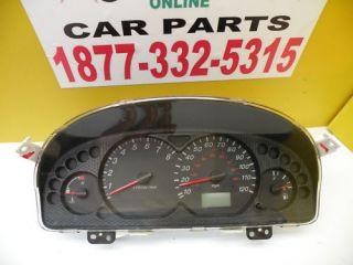 03 06 Mazda Tribute Speedometer Instrument Cluster