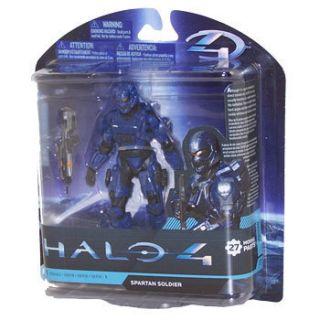 McFarlane Toys Action Figure   Halo 4 Series 1   SPARTAN SOLDIER (Blue