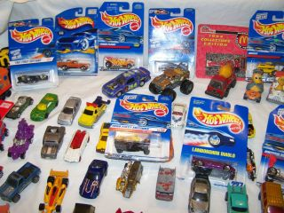 Huge Lot of 95 Assorted Vintage Toy Cars Matchbox Hot Wheels Maisto