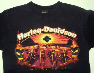 Harley Davidson Motorcycle Mechanicsburg PA Black T Shirt M