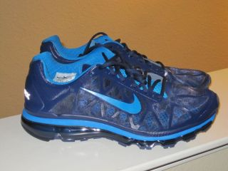 NIKE AIR MAX PLUS 2011 APPLE IPOD RUNNING SNEAKERS SHOES 12 BLUE MAX