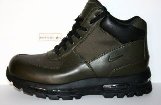 Authentic Nike Air Max Goadome II F L Boots Dark Army Green Black Men