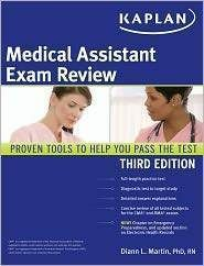 Kaplan Medical Assistant Exam Review 3rd Edition 1419553410