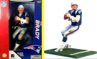 McFarlane Sports Tom Brady NFL Football 12 Series QB