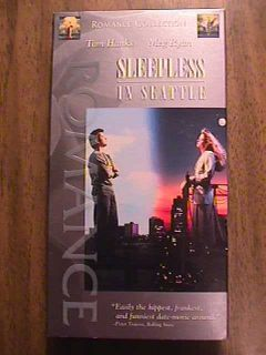 Sleepless in Seattle VHS Tom Hanks Meg Ryan V5 043396254930