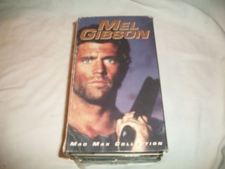 Mel Gibson Mad Max Collection Set 3 VHS