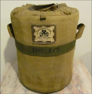 WWII ARMY Shamrock MEESE I00 I 2 Field 10 MESS Pot with WARMER US Pat