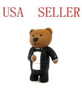 8GB Winnie Pooh Bear USB Memory Stick Flash Drive