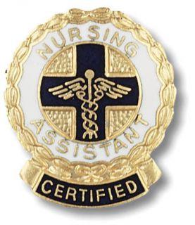 Certified Nursing Assistant Medical Nurse Lapel Pin