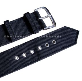 PC Grommets WWII Military Army Mens Cotton Watch Strap Band