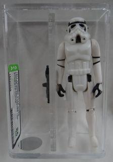 Vintage 1977 Star Wars Stormtrooper Loose AFA Graded 85 Action Figure