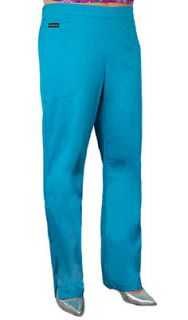 Rampage Womens Medical Scrubs Pants XL Peacock