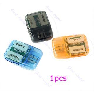 SDHC SD MMC Memory Card Reader 4 in 1 USB 2 0 Adapter