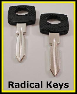 Mercedes Benz 300 Series Key Blanks 1986 1987 1988 1989 1990 1991