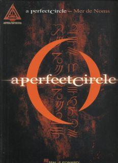 Perfect Circle Mer de Noms Guitar Tab Sheet Music 12 Rock Songs Book