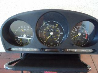 1980 Mercedes Benz W107 380 450 560 SL Instrument Cluster 60SL 450SL