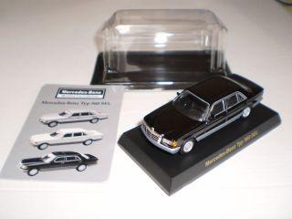 Mercedes Benz Typ 560 Sel Black 1 64 Kyosho