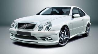 Mercedes Benz CLK W208 1997 2002 Front Bumper AMG Look
