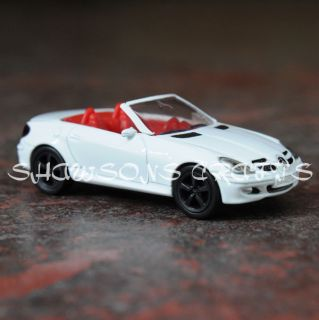 1002 Diecast Metal 1 64 Mercedes Benz SLK Car Model Replica