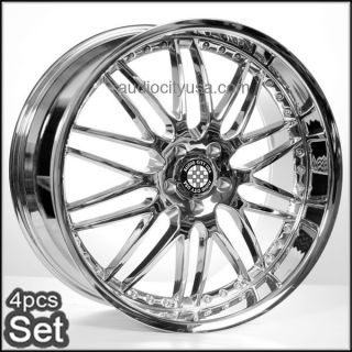 20 M46 Chrome Wheels for Mercedes Benz Rims CLK C E s CL ml GL