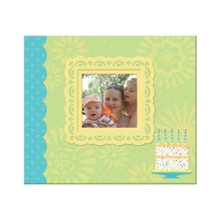 Company Simply K Family Memories Baby Birthday 8 5 x 8 5 Scrapbook