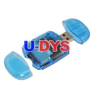 USB 2 0 Micro SD TF SDHC Memory Card Reader Adapter