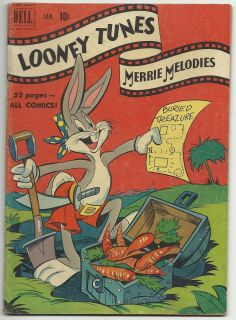 Looney Tunes and Merrie Melodies Comics 111 and 115 Golden Age Lot of