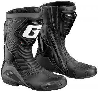 Gaerne GR w Black Mens Motorcycle Street Riding Boot