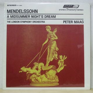 Peter MAAG Mendelssohn A Midsummer Nights Dream London STS 15084