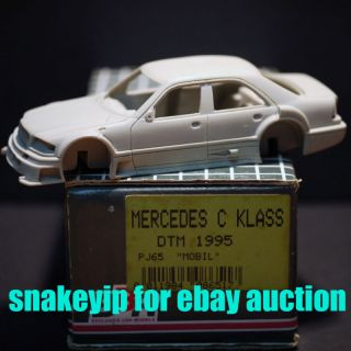BBR Mercedes Benz C Klass DTM 95 Mobil 1 43 Model Kit
