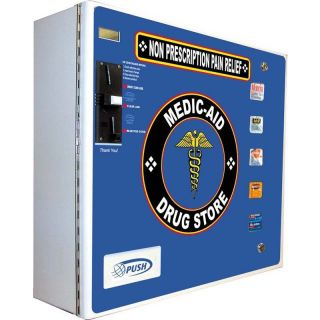 Medicine Pack Vending Machine, Seaga SL 5000 OTC Medicinal Bathroom