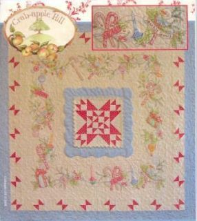 Merry Little Christmas Quilt and Embroidery Pattern