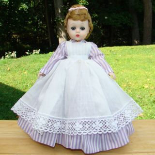 1961 Little Women Meg Doll Madame Alexander Lavender Dress Lissy