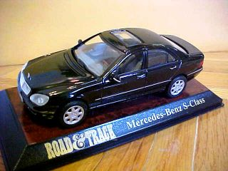 Mercedes Benz s Class 1 43rd Scale Diecast Model with Case