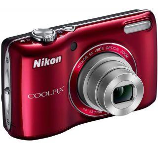 Nikon Coolpix L26 Red 16 Megapixel Digital Camera