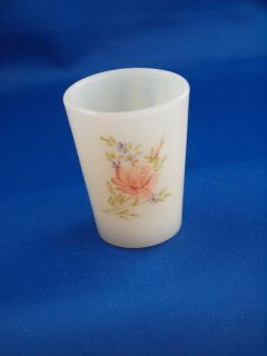 Fenton Hand Painted Toothpick Holder w Signature