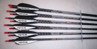 Easton ST Axis Full Metal Jacket Arrows 340 Carbon Alum w Quikspin