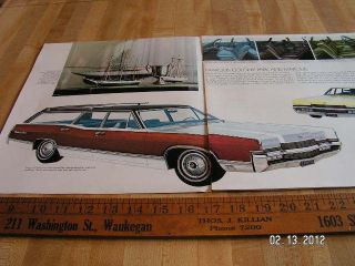 1970 Mercury Marquis Monterey Montego Station Wagons ORIGINAL Catalog