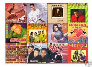 12 Merengue CD Lot Latin Music Kinito Mendez Alex Bueno