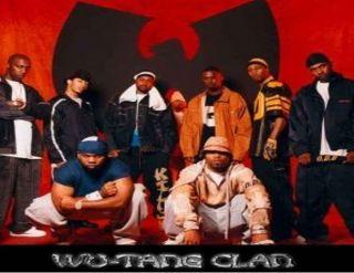 Wu Tang Clan CD T Shirt Method Man RZA GZA ODB Red