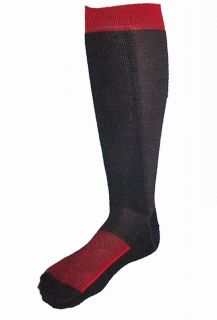 4pr Mens PREMIUM Soft MERINO WOOL Work Hiking Outdoor Boot Socks BLACK
