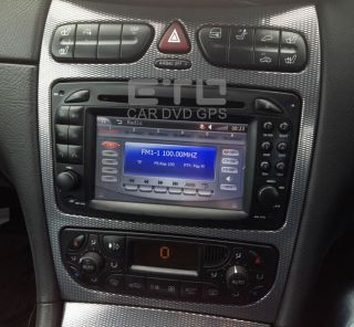 ETO Mercedes Benz CLK SLK Vaneo Viano Vito Car DVD Stereo GPS Nav