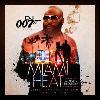 Miami Heat The Best of Rick Ross Non Stop Mix CD